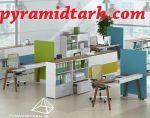 طراحی داخلی شرکت- پیرامید طرح