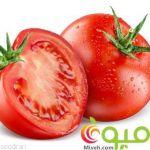 گوجه فرنگی برای لک صورت