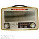 جدیدتر رادیو بلوتوثی با طراحی چوبی و شیک
