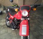 موتور سالم رنگ قرمز honda xl 250