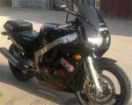 موتورسیکلت cbr250 با برگه سبز