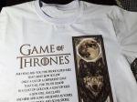 چاپ طرح دلخواه بر روی انواع تی شرت و تاپ