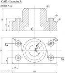 آموزش رسم فنی مکانیک عمومی (قزوین)
