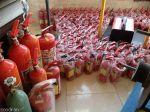 شارژ و فروش کپسول های آتش نشانی با قی