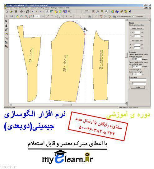 دوره ی آموزشی الگوسازی با نرم افزار جمین-pic1