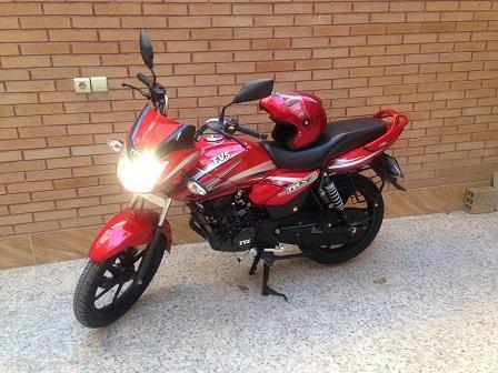 موتورسیکلت TVS125-pic1