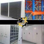 تولید و فروش و نصب قفسه های بایگانی