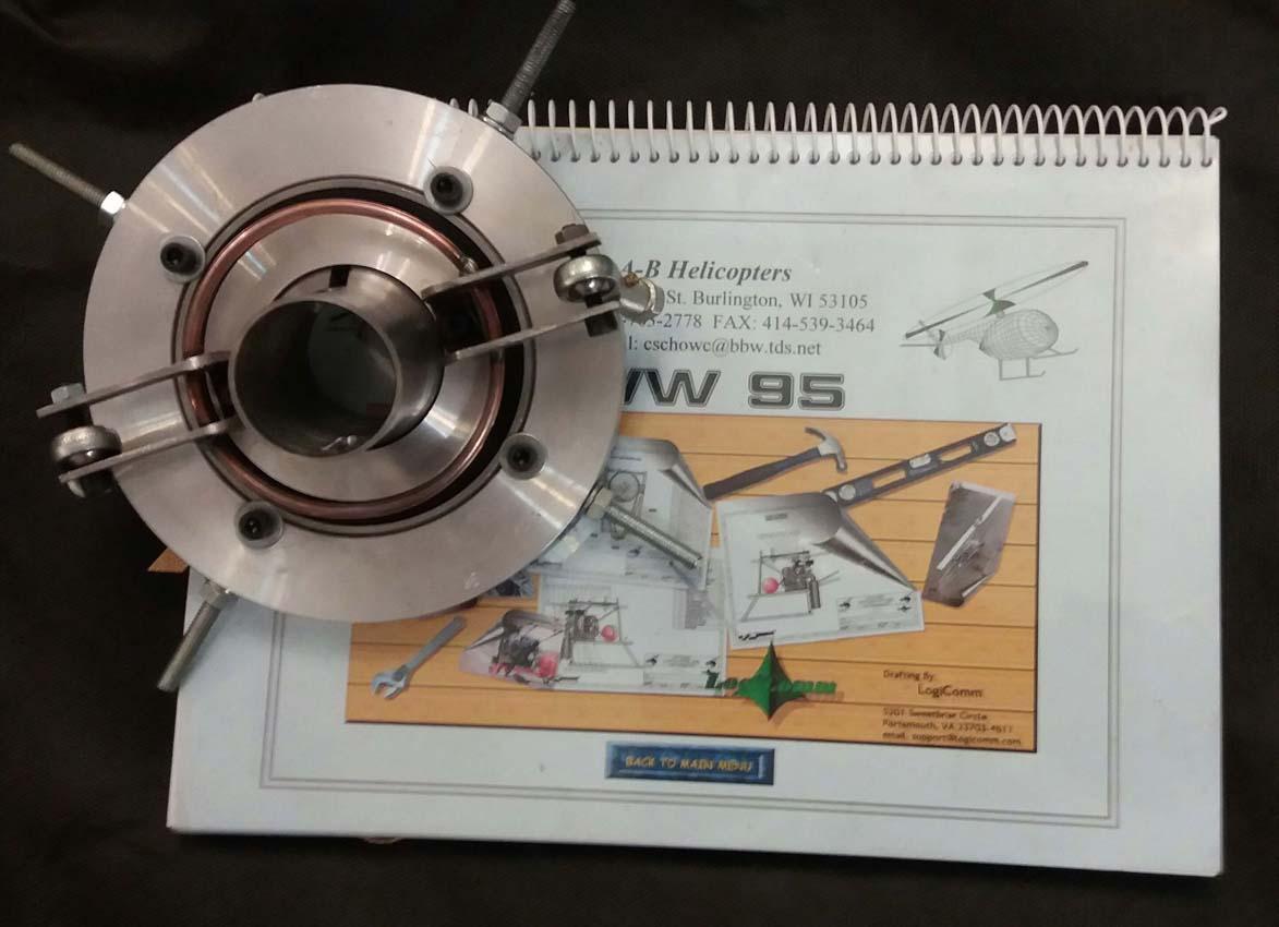 سوش پلیت(swash plate) و نقشه ساخت سازه و-pic1