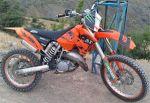 موتور درحد  کی تی ام SX 125 KTM SX