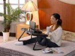میز لپ تاپ مجهز به فن و اسپیکر