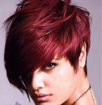 آرایش با تغییر رنگ موی سر