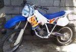 موتور بسیار تمیز یاماها YZ 125 1995