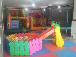 استخر توپ وپارک کودک 6 ضلعی رنگی