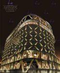 طراحی و اجرای نورپردازی نمای ساختمان