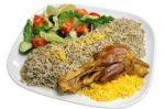 تهیه غذا در نزدیکی ونک