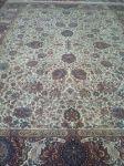 فرش دستباف قدیمی ریشه ابریشم