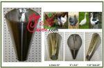 فروش قیف سربری مرغ و دیگر پرندگان استیل