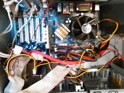 کا مپیوتر پنتیو م 5 با سی پیو 3.6 مگا هر-p1