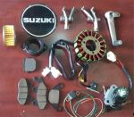 کلیه لوازم موتورسیکلت آمیکو (سوزوکی 250)