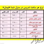 تدریس خصوصی ماد (تمامی نقاط تهران)
