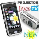 گوشی موبایل پروژکتور دار با امکانات خاص
