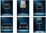 فروش انواع صندلی اداری و کامپیوتر