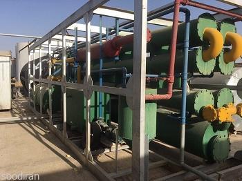 فروش کارخانه تولید  و تصفیه هیدروکربن -p1
