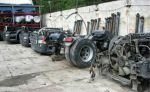 قطعات مکانیکی وسایل نقلیه سنگین