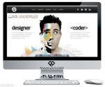 طراحی سایت شخصی با امکانات کامل در جم