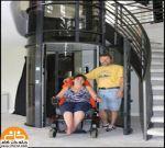 آسانسور سه نفره با قابلیت حمل ویلچیر