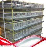 تولید کننده قفس های پررش مرغ و طیور